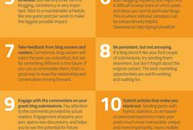 Guest Blogging / Everything you need to know about guest posting/blogging on other peoples' sites!