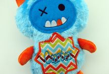 For the love of handmade dolls... / Dolls made by Monogram Perfect www.MonogramPerfect.com