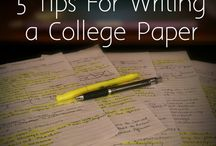 College Tips & Tricks / by University of St. Thomas
