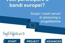 Area Europa / Ecco i molti servizi che l'area Progetti Europei è in grado di offrire