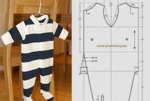 patrones ropa bebe