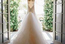 Wedding Dress Photography: The Hanging Dress Shot