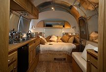 Glamping / Lady Lairs, my very own space that will go where I want to go. A man has a cave. I want a small moving retreat. The ultimate road trip setup / by Mercedes Dugan