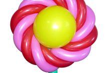 Цветы из воздушных шаров / Авторские модели цветов из воздушных шаров. Ссылки на инструкции по изготовлению