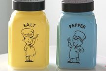 Vintage Salt and Pepper/Spice Sets / by Tashia Johnson