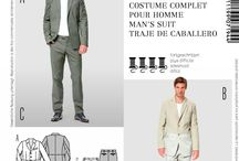 men's clothing sewing patterns and tutorials / by Dixie Jarman
