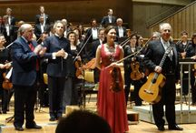 On stage with.... / Pepe Romero playing chamber music and performing with orchestras
