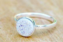Druzy Ring / Druzy Ring,Quartz Ring,Drusy Ring