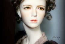 Dolls / I don't know much about the art doll & ball jointed doll world, but a sweep through pinterest left me wanting for more diversity in the models. They seem to be pretty much white (or albino) throughout.