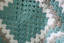 Lorraine granny square blanket