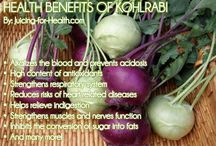 Kohlrabi / Dietary Information on kohlrabi and some recipes to help you navigate your way through your CSA delivery this month!