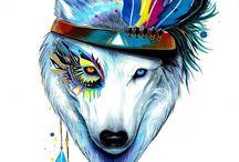 Волки!!!!!)))