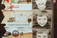 kids scrapbooking / by Cindy Boatman