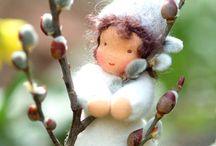Květinové panenky