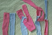 háčkování ze starých triček