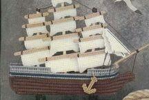 Ship plastic canvas