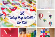 Who says rainy days can't be fun?!? / Indoor activities for matches