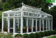 Estate Greenhouses / RBI's unique estate greenhouse designs are backed by 80 years of experience. / by Rough Brothers Inc