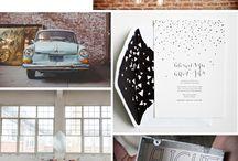 Industrial Modern Wedding Design