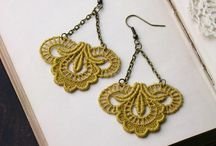 Lace Jewelry - DIY/Ideas