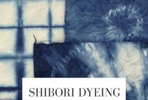 Shibori / Indigo dye ideas