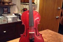 Fine violins / Instruments of interest