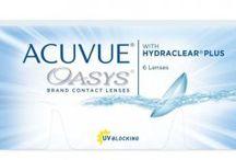 Acuvue Oasys with Hydraclear Plus / sphärische Kontaktlinsen, 2-Wochenlinsen