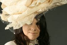 irmgard gilds / Hats, tiara and costumes designed by Irmgard Gilds
