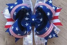 headband and bows