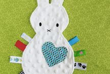 Softies, blankies and baby toys