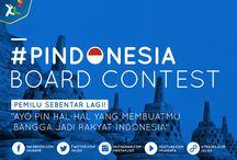 PINdonesia / Pemilu sebentar lagi! Ayo pin hal-hal yang membuatmu bangga thd Indonesia #PINdonesia  / by XL Axiata