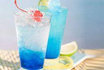Blå drinker