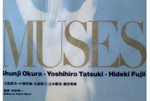 """Hideki Fujii, Shunji Okura, Yoshihiro Tatsuki  _ """" Muses"""" / Hideki Fujii, Shunji Okura, Yoshihiro Tatsuki  _ """" Muses"""""""