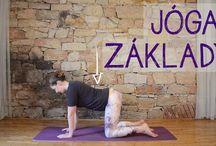 jóga, cvičení