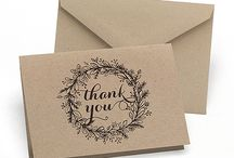 Thank You Notes / Say 'thank you' in style with these gorgeous thank you notes from Persnickety.