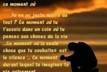 citation sur la vie / Citations