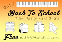 Free Music Assignment Sheets