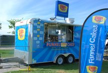 Funnel Cake Express Trailer / Pictures of the Funnel Cake Express Trailer all Set up for events