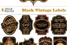 label/logo/tags