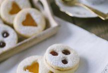 Biscotti al burro con confettura / Biscotti al burro con confettura