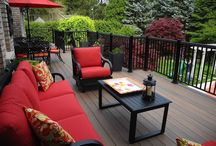 Low Maintenance Decking / Composites, capped composites, PVC and ASA decking materials make up this category of decking materials - our specialty!