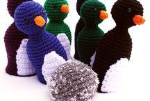 Leluja ja muuta tekemistä lapsille / Ommeltuja, virkattuja tai neulottuja leluja