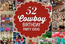 Cowboy birthday party!