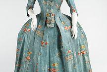 1700-tal - damkläder