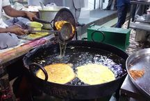 Indian Street Food   Mumbai Street Food   Street Food of India / This Pin is all about Indian street food. Street food of Mumbai is the food sold by hawkers from portable stalls in Mumbai. It is one of the characteristics of the city. The city is known for its distinctive street foods. Although street food is common all over India, street food in Mumbai is noted because people from all economic classes eat on the roadside almost round the clock and it is sometimes felt that the taste of street food is better than restaurants in the city.