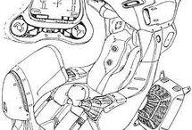 Inspiracoes pro mantis / fontes de ideias e inspiracoes para o design do Thundrtirke