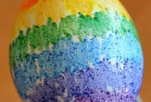 Easter - malowanie jajek
