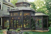 Greenhouse - gazebo - orangery / About that garden addition