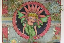 Charmed Pixie Chicks Digi Downloads / The beautiful Pixie Chicks downloads from Charmed Cards & Crafts