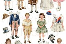 The Pinterest July 4th My Best Paper Dolls Paper Toys And Vintage Paper